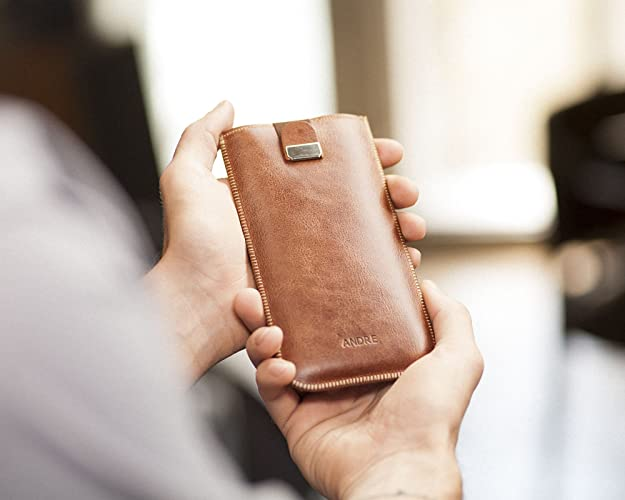 Custodia in pelle personalizzata per essential phone incidi il tuo