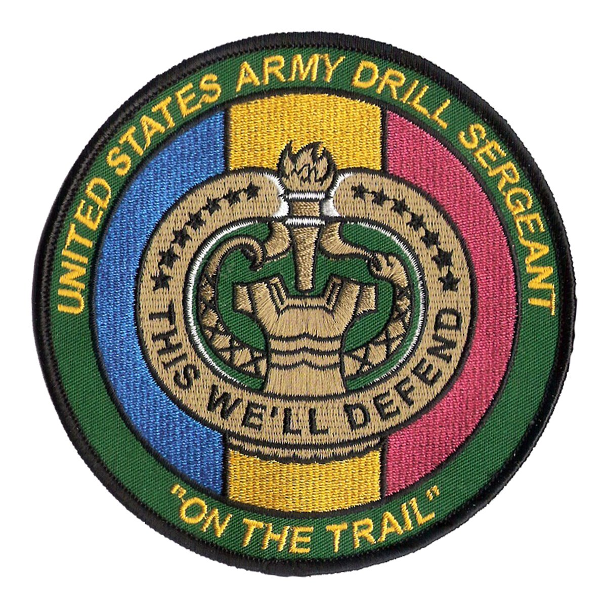 Amazon Us Army Drill Sergeant Embroidered Patch 4 34