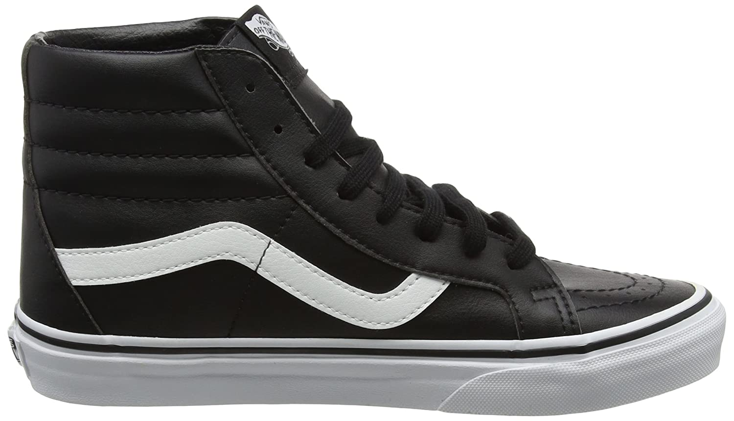 VANS MENS SK8 HI REISSUE LEATHER US|Black SHOES B01N7G750N 8 D(M) US|Black LEATHER b21e20