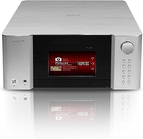 LUXA2 LM300 Touch Pro HTPC Negro, Plata Carcasa de Ordenador - Caja de Ordenador (HTPC, PC, Aluminio, ATX, Negro, Plata, 460 mm): Amazon.es: Informática