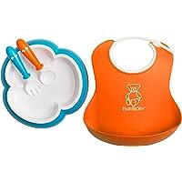 Baby Bjorn 婴儿喂食套装 橘色/青绿色
