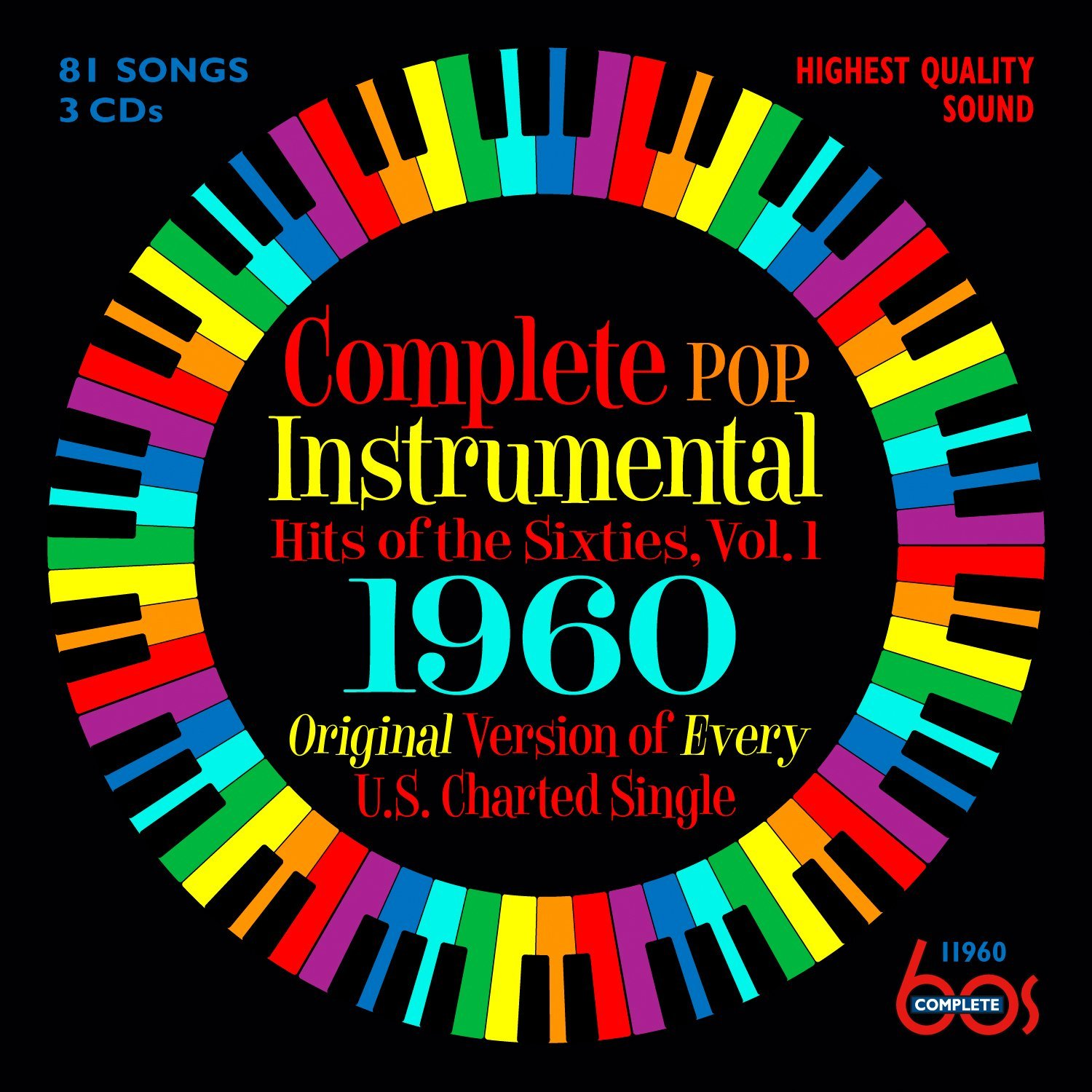 Complete Pop Instrumental Hits Of The Sixties, Vol. 1 1960 by Unknown