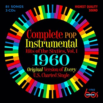 Complete Pop Instrumental Hits Of The Sixties, Volume 1 - 1960