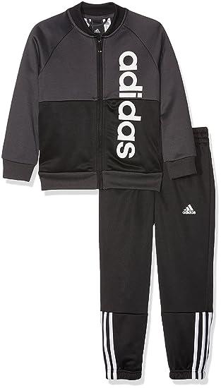 095ea21c99 adidas Boys  Yb Linear Ts Ch Tracksuit  Amazon.co.uk  Sports   Outdoors