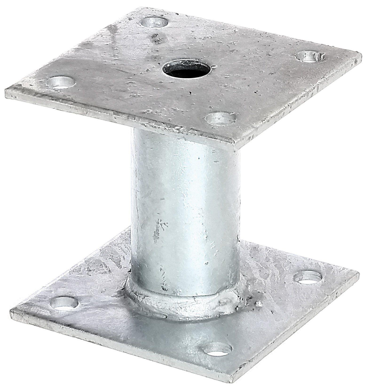Screw-On Post Anchor Hot-Dip Galvanised 100 x 100 mm by GAH-ALBERTS