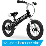 Balance bike for kids | Best Tires, Adjustable and Comfortable Seat, Ages 3-6