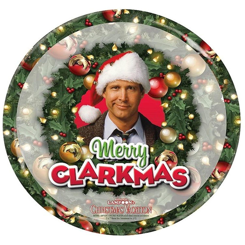 Clark Griswold Christmas Vacation Foto Teller 17 cm Durchmesser Sch/öne Bescherung