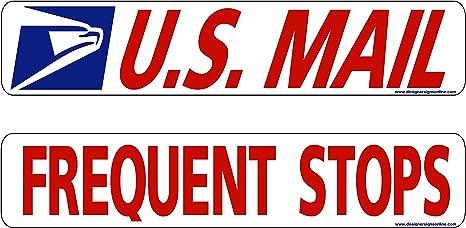 Amazon.com: US Mail – Frecuentes paradas – adhesivo o imán ...