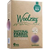 Woolzies the Original Highest Quality Wool Dryer Balls Xl, Best Natural Fabric Softener, Gift Set, Lavender, Set of 6