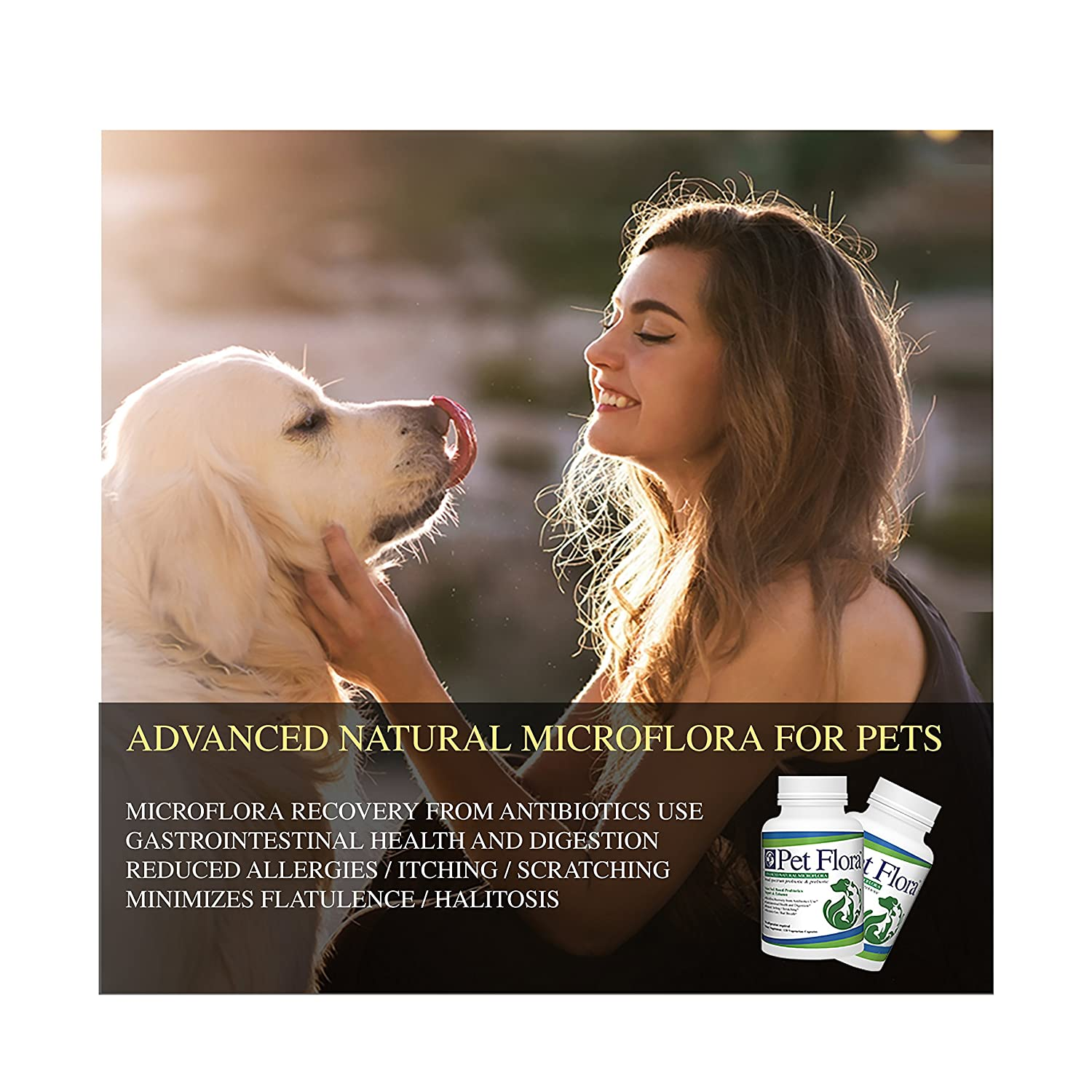 Amazon.com: Pet Flora -Soil based Broad Spectrum Prebiotic Probiotic ...