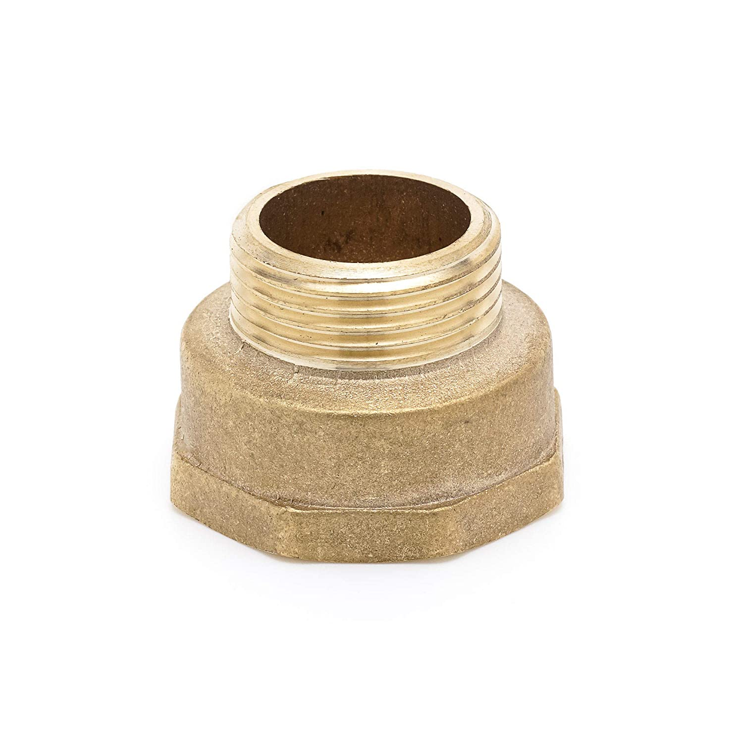 """Pipe Fitting NPT Adapter 1//2 Male x 3//4 /"""" Female Brass Adapter 0,5 inch x 0,75 inch Female"""