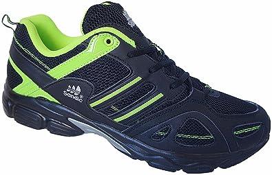 Herren Sportschuhe Sneaker Turnschuhe Schuhe Übergröße gr.47 49 Art. Nr.1326 schwarz grün