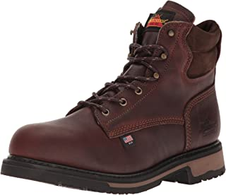 "product image for Thorogood Men's American Heritage 6"" Classic Plain Toe, Safety Toe Boot"
