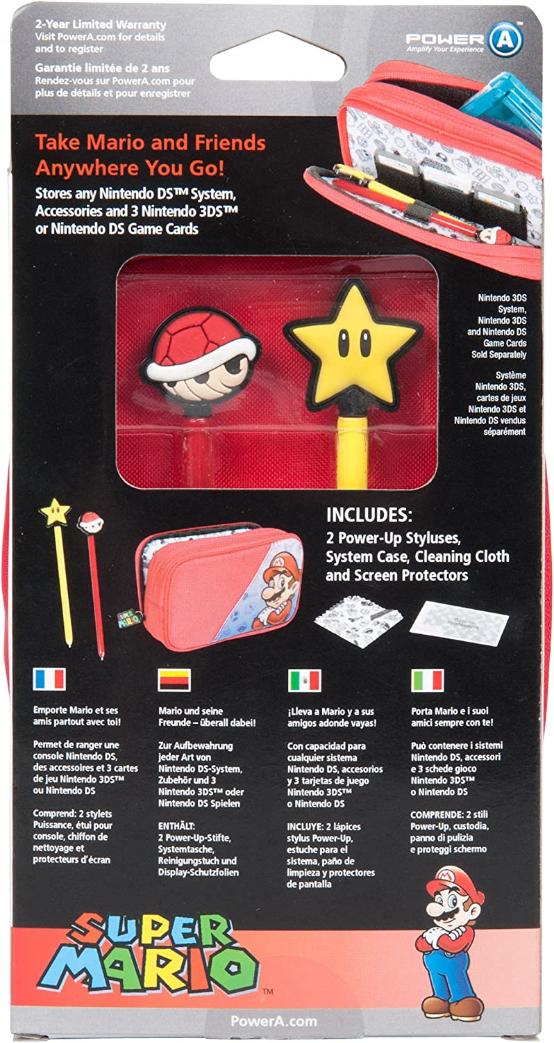 Amazon.com: Super Mario Starter Kit for Nintendo DS - Mario ...