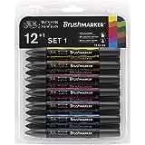 Winsor & Newton BrushMarker 12 Vibrant Tones Set