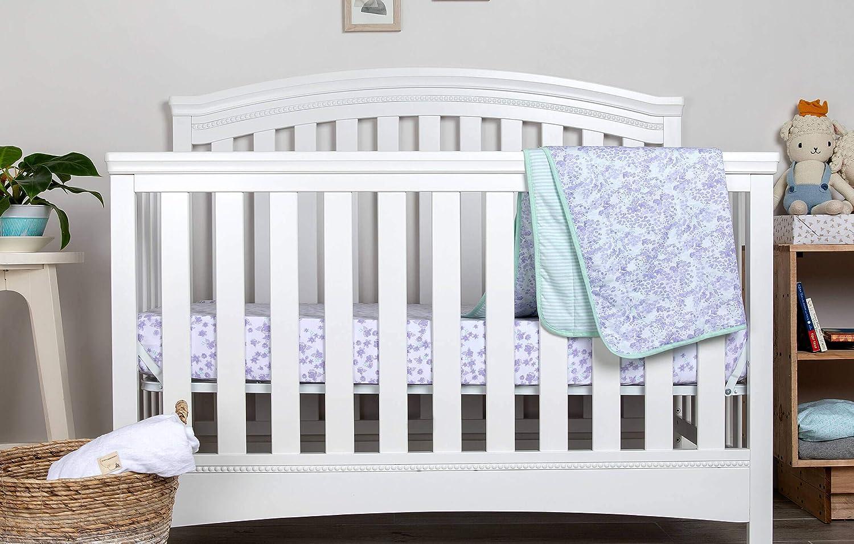 Burts Bees Baby Fitted Crib Sheet Girls /& Unisex 100/% Organic Cotton Crib Sheet for Standard Crib and Toddler Mattresses Heather Grey Honeybee Print Burt/'s Bees Baby HM10124-HTG-CB