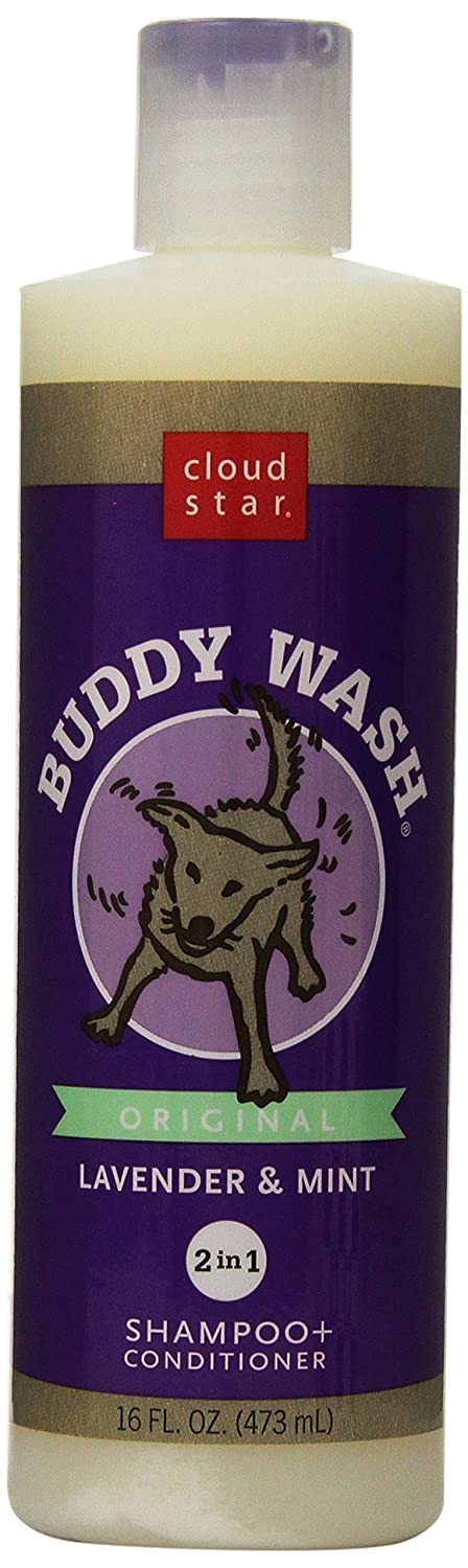 Cloud Star Buddy Wash Dog Shampoo + Conditioner - Lavender and Mint