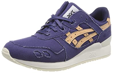 Asics - Gel Lyte III Platinum Collection Indigo Blue Tan - Sneakers ... 71e7f536eb