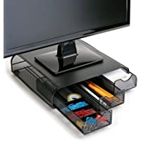 Mind Reader 'Perch' Organizador de escritorio y soporte para monitor, computadora, laptop, IMac