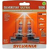 SYLVANIA - 9006 SilverStar Ultra - High Performance Halogen Headlight Bulb, High Beam, Low Beam and Fog Replacement Bulb, Bri