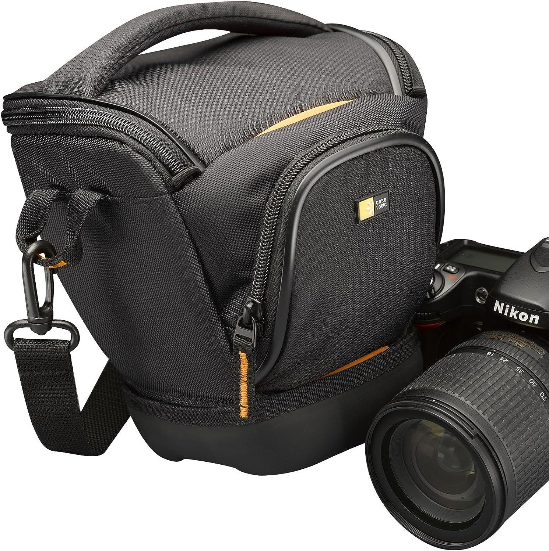 Case Logic SLRC200 - Funda para cámara réflex, Negro: Amazon.es ...