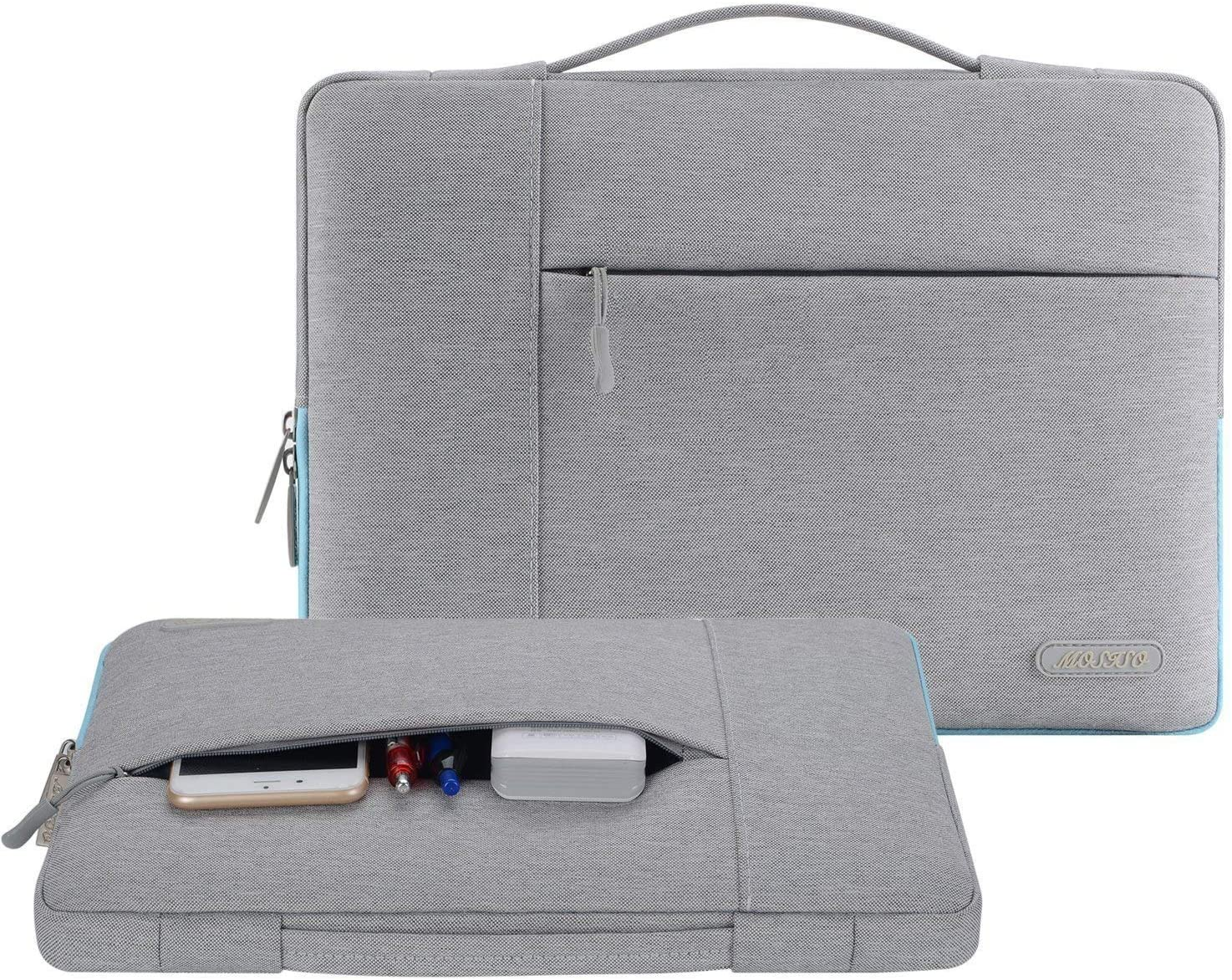 MOSISO Tasche Sleeve H/ülle Kompatibel mit 12,3 Zoll Microsoft Surface Pro X//7//6//5//4//3 Deep Teal Ultrabook Polyester Multifunktion Laptoptasche Aktentasche Handtasche 11-11,6 Zoll MacBook Air