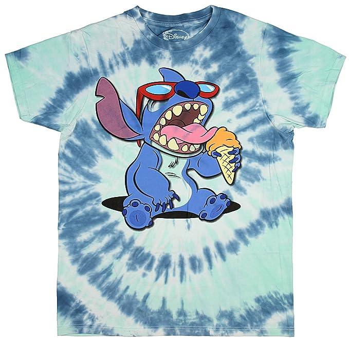 Amazon Disney Lilo Stitch Mens Ice Cream Tie Dye T Shirt X