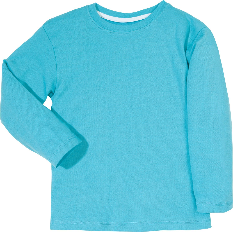 Kinderbutt Langarmshirt Interlock-Jersey