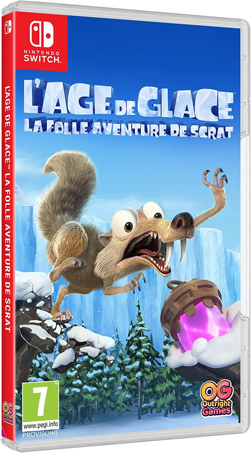 L'âge de glace [SWITCH] : la folle aventure de Scrat | Outright Games