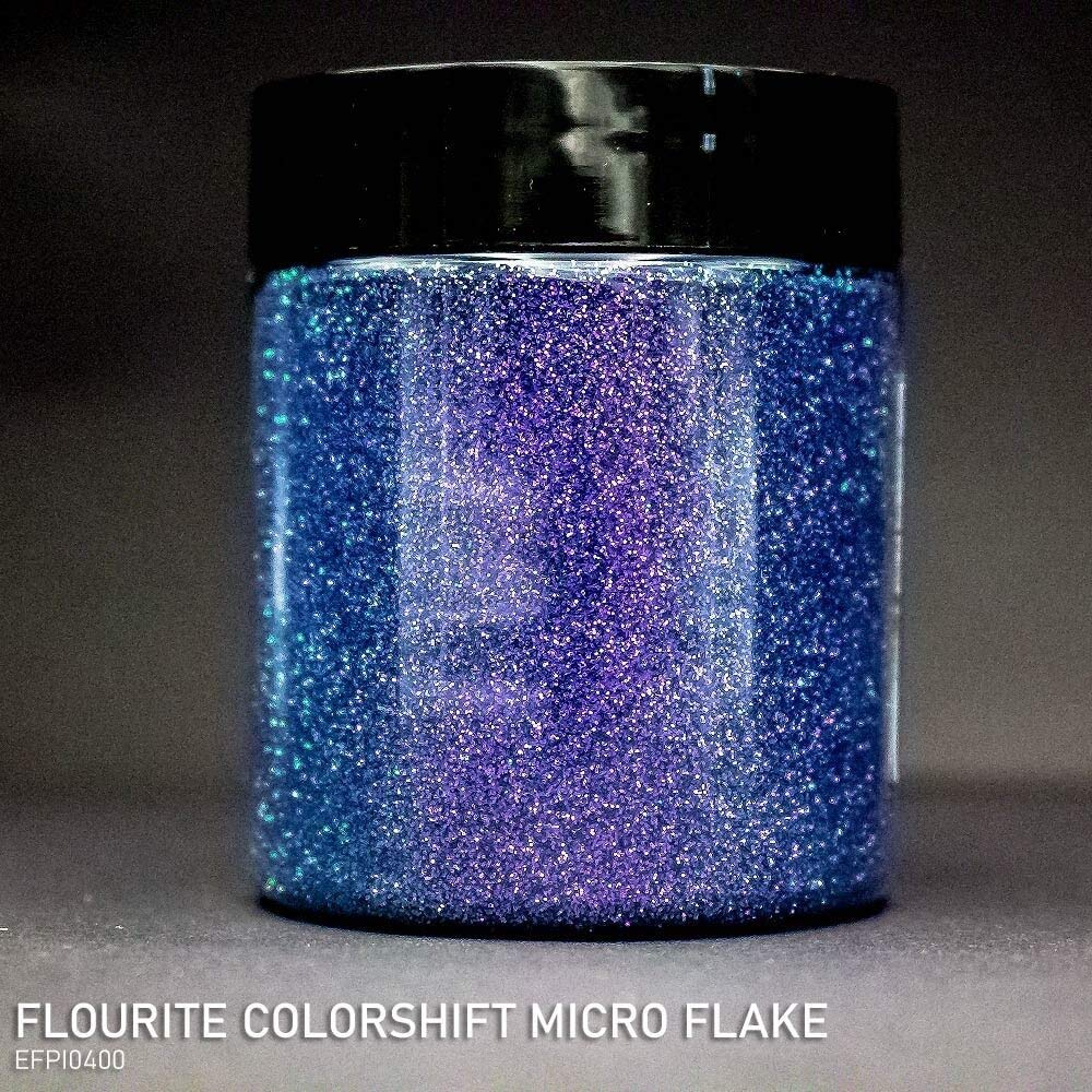 Effektpigment FLOURITE COLORSHIFT Flake Glitter Polyester EFfekt Farbpigment f/ür Epoxidharz Resin Epoxy Autolack Aquarell Seife Kunst Geode