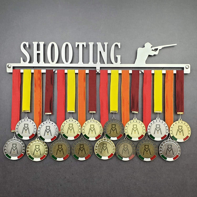 MEDALdisplay Shooting | Puerta medallas Tiro al Volo/medallón de Pared Medal Hanger