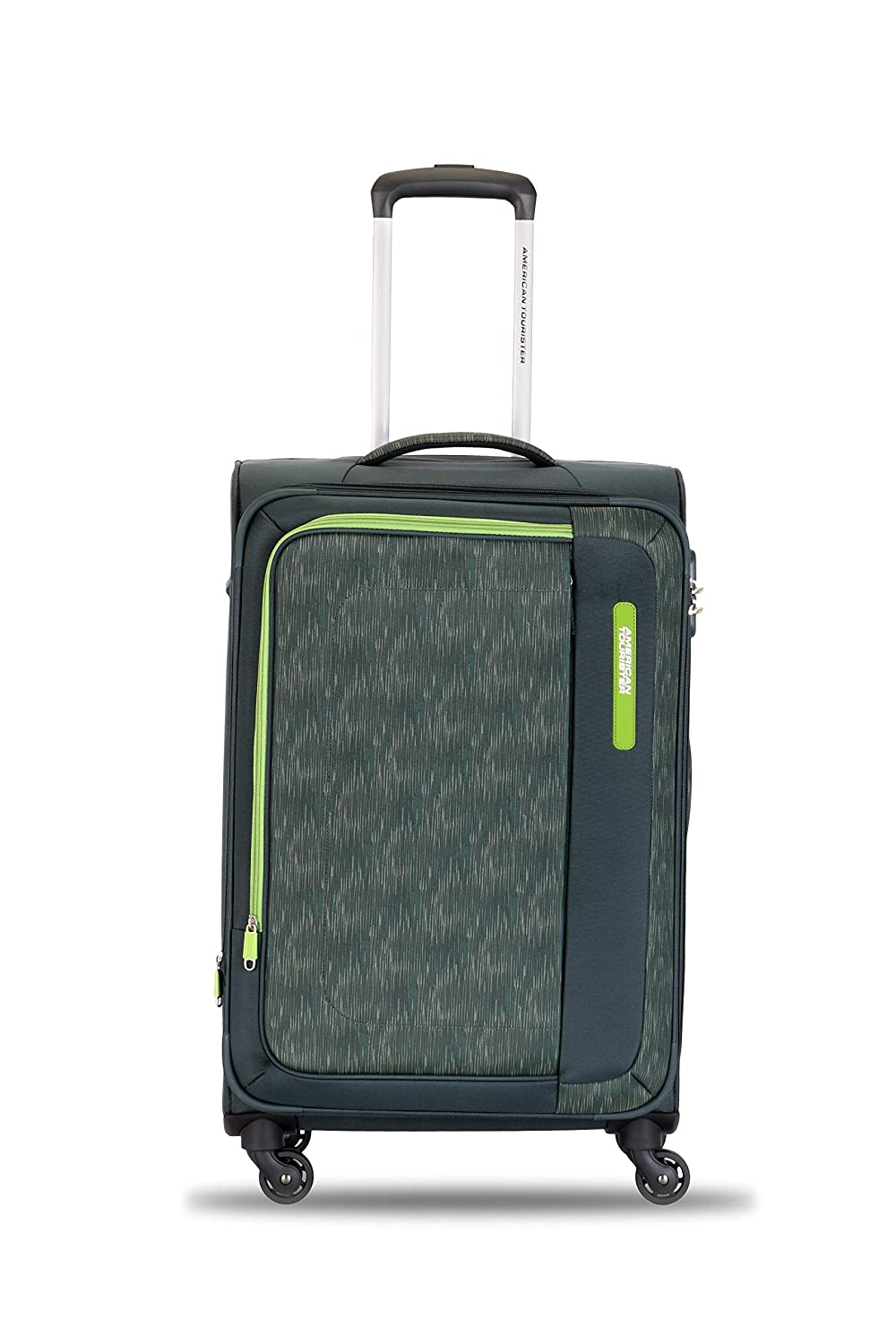 American Tourister Rhodes Polyester 58 cms Olive Softsided Cabin Luggage