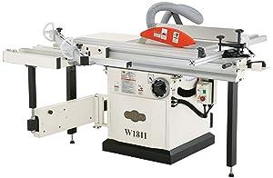 Shop Fox W1811 10-Inch 5 HP Sliding Table Saw
