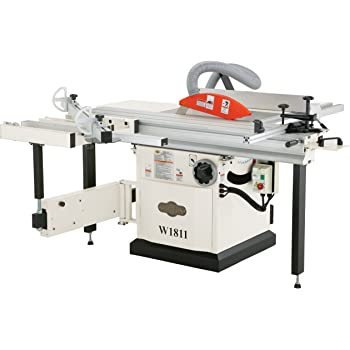 Shop Fox W1811 10 Inch 5 Hp Sliding Table Saw Power