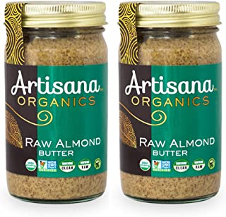 product image for Artisana Organics Non GMO Raw Almond Butter, 14 oz (2 Pack)