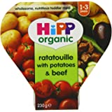 Hipp Organic Ratatouille with Potatoes and Beef Tray Meal from 12 Months 230 g (Pack of 5)