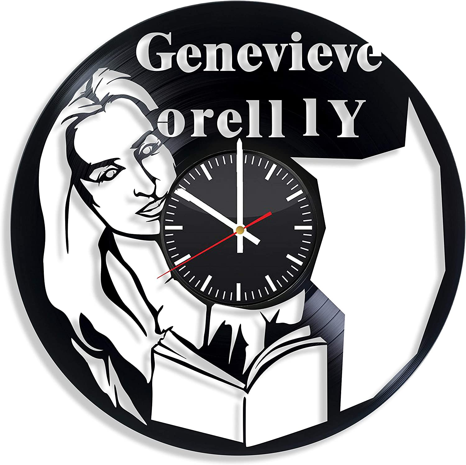 Amazon Com Genevieve O Reilly Actor Handmade Vinyl Wall Clock Get Unique Gifts Presents For Birthday Christmas Ideas For Boys Girls Men Women Adults Him And Her Sport Unique Design Home