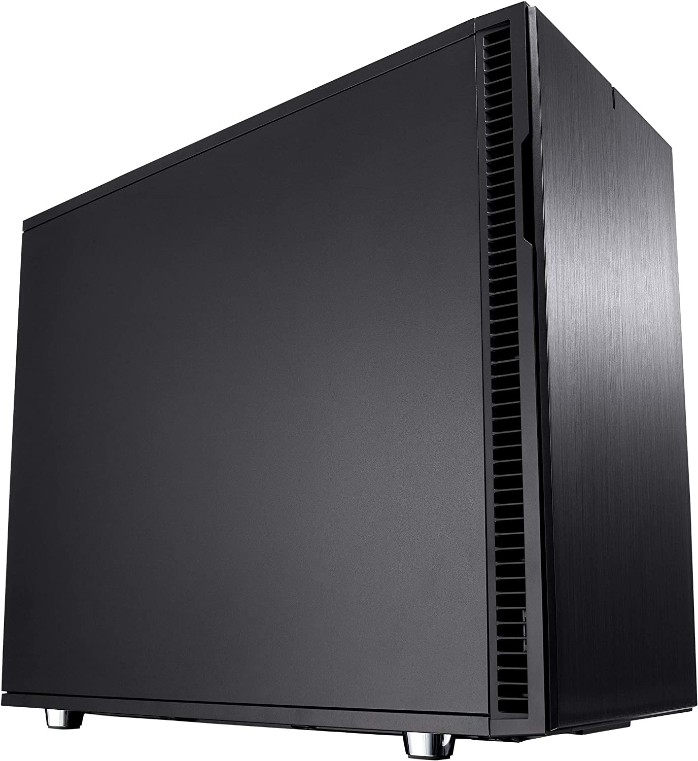 Fractal Design Define R6 USB-C - Mid Tower Computer Case - ATX - Optimized for High Airflow and Silent Computing with Moduvent Technology - PSU Shroud - Modular - Water-Cooling Ready - Blackout