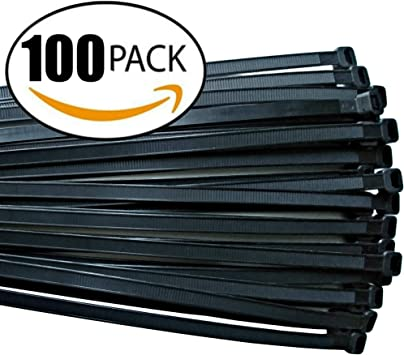 """50 IDEAL 24/"""" WIRE AIR HANDLING CABLE ZIP TIES 175LB USA MADE B-24-175-0-L"""