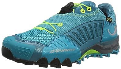 Dynafit WS Feline GTX, Zapatillas de Running Para Asfalto Para Mujer, Azul (Boreal/Fluo Yellow), 37 EU: Amazon.es: Zapatos y complementos