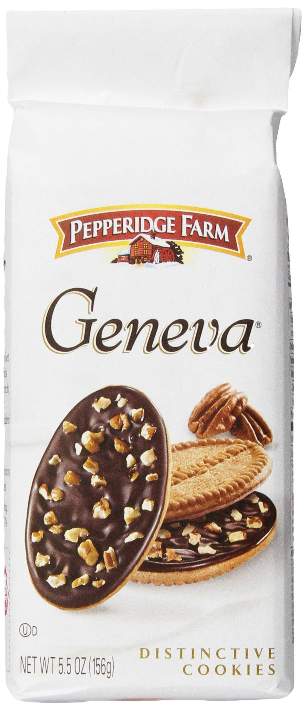 Pepperidge Farm Geneva Cookies, 5.5-ounce bag (pack of 4)