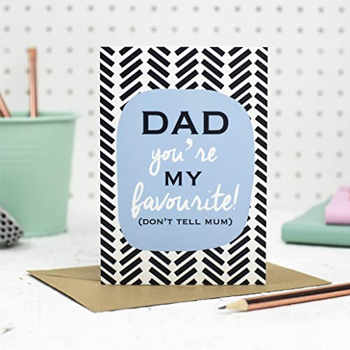Funny Birthday Card For Dad Fathers Day