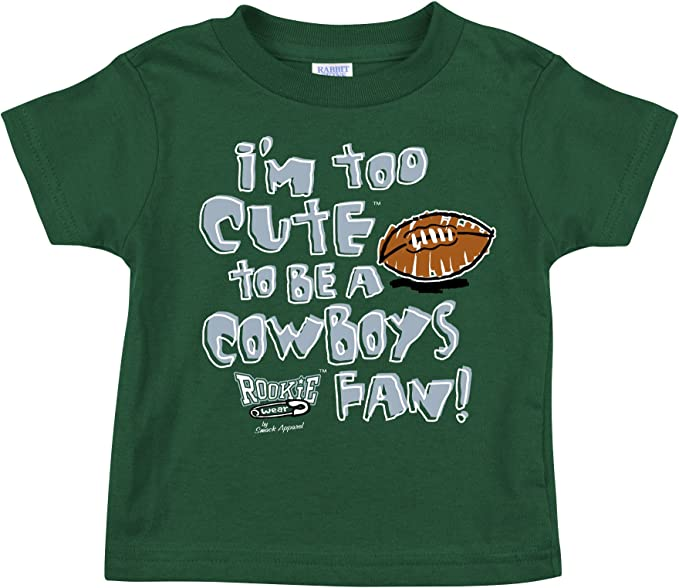 Im Too Cute to be a Gators Fan Garnet Onesie Smack Apparel Florida State Football Fans NB-18M or Toddler Tee 2T-5//6T