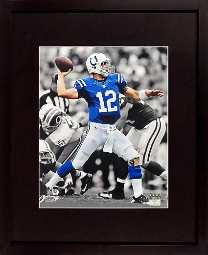 "e8064d46 Amazon.com: Indianapolis Colts Andrew Luck ""Spotlight"" 8x10 ..."