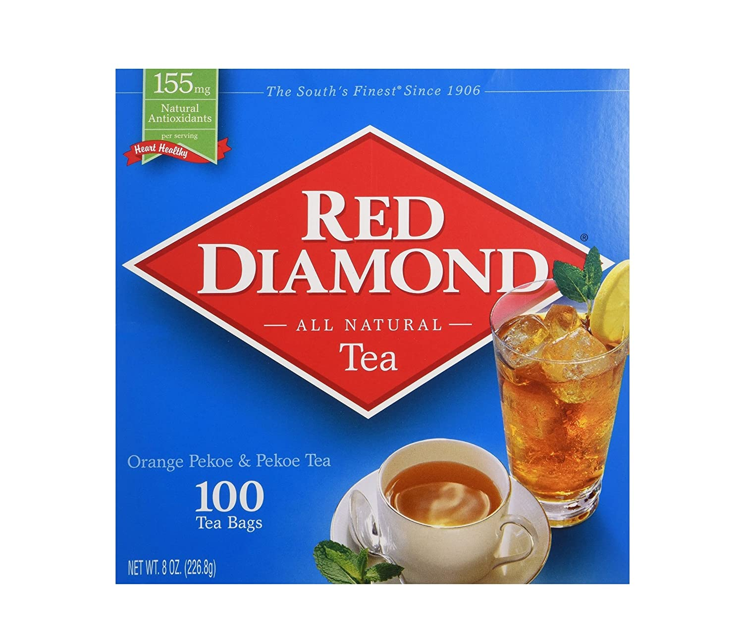 Red Diamond Gourmet Tea 100ct Single Serving Bags by Red Diamond