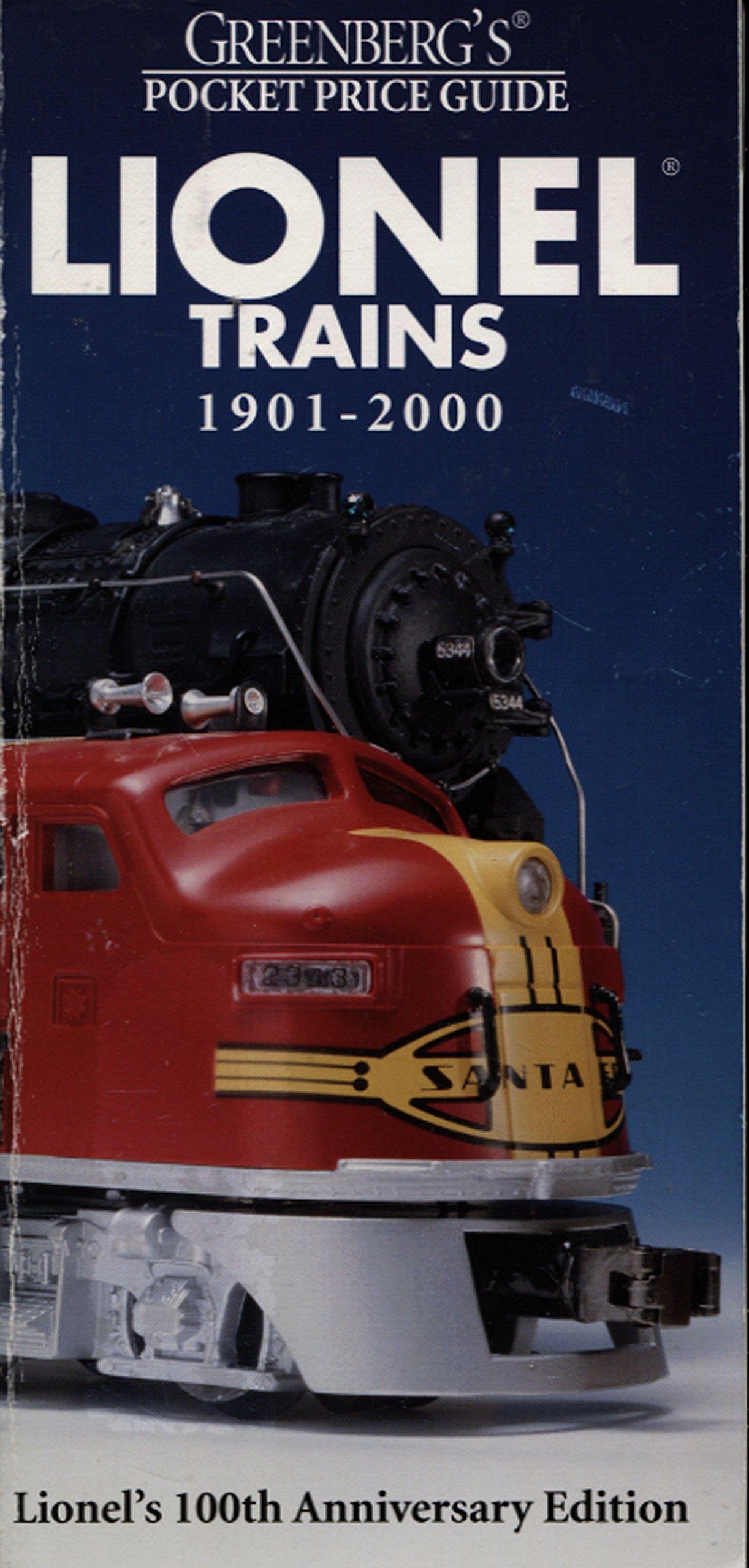 Greenberg's Pocket Price Guide: Lionel Trains 1901-2000 (Greenburg's Pocket Price Guide Lionel Trains)