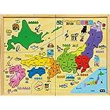 木製 パズル日本地図