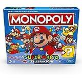 Monopoly Super Mario ¡Celebración! - Juego de Mesa para Fans de Super Mario Mayores de 8 años, con Sonidos del…