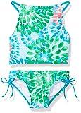 Amazon Price History:Kanu Surf Girls' Daisy Halter Tankini Beach Sport 2-Piece Swimsuit