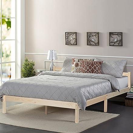 GreenForset Letto matrimoniale in legno telaio del letto ...